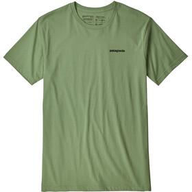 Patagonia P-6 Logo Organic Camiseta Hombre, matcha green